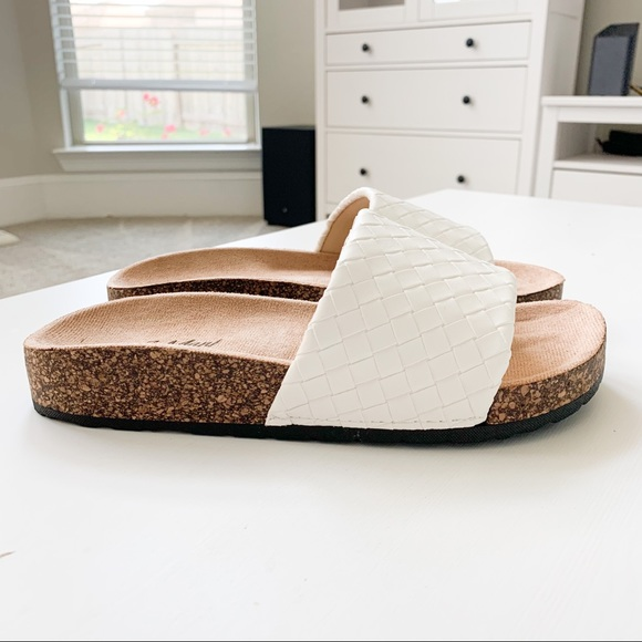 J. Mark Shoes - J.Mark White Sandals Urban-39